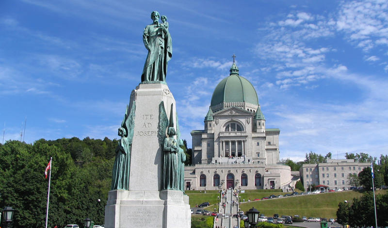 saint josephs oratory in montreal quebec canada vacation packages cheap flights from montreal