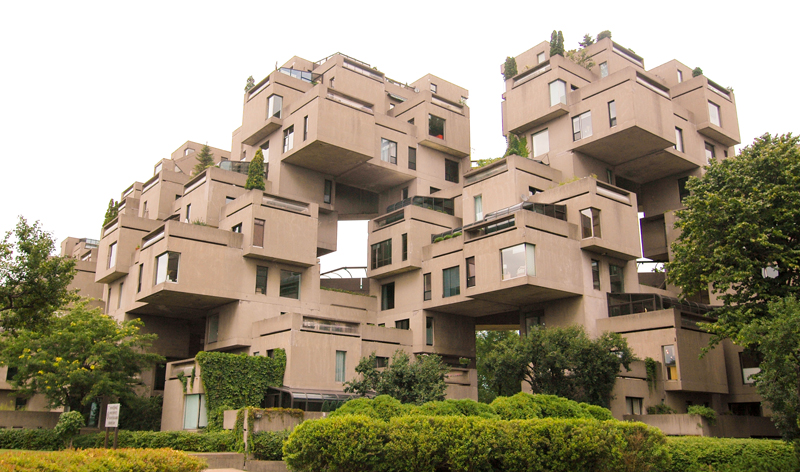 habitat 67 housing complex in montreal quebec canada vacation packages cheap flights from montreal