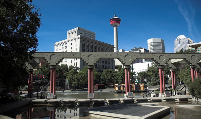 olympic plaza in calgary alberta canada vacation packages