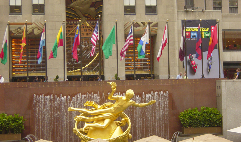 rockefeller centre new york city new york usa vacation packages