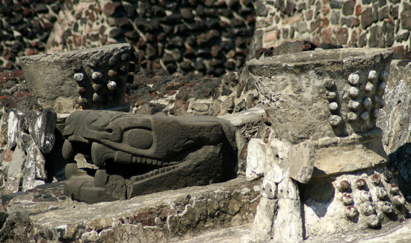 serpent sculpture in templo mayor mexico city vacation packages