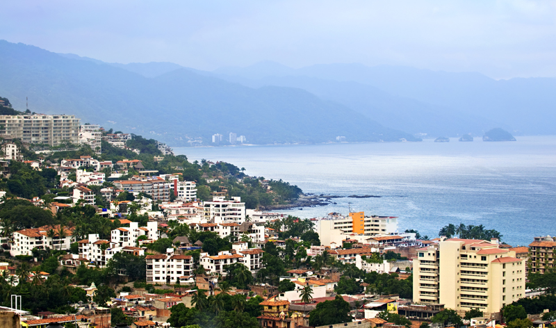 aerial view puerto vallarta mexico vacation packages