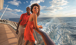Carnival Cruises couple on deck