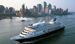 Holland America Line ms Prinsendam in New York City