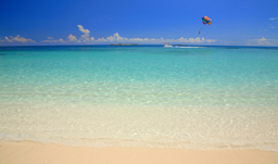 White sand beaches - Nassau, Bahamas