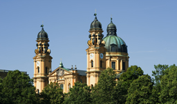 The historic church Theatinerkirche of Munich - Germany
