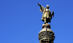 Christopher Columbus statue - Barcelona, Spain