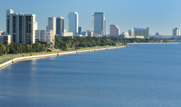 City skyline - Tampa, Florida, USA