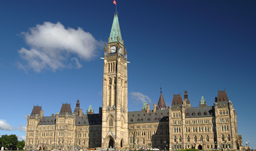 View of Parliament Hill - Ottawa, Ontario, Canada