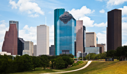 Beautiful summer day in the City - Houston, Texas, USA