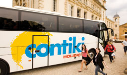 Contiki Holidays offers Escorted Coach Tours to Europe, USA and Canada, Latin America, Asia, and South Pacific exclusively for Youth ages 18-35
