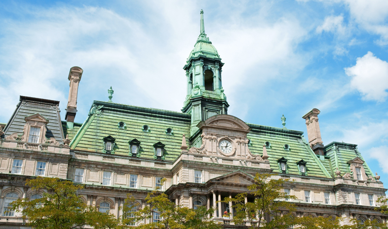 the old city hall in montreal quebec canada vacation packages