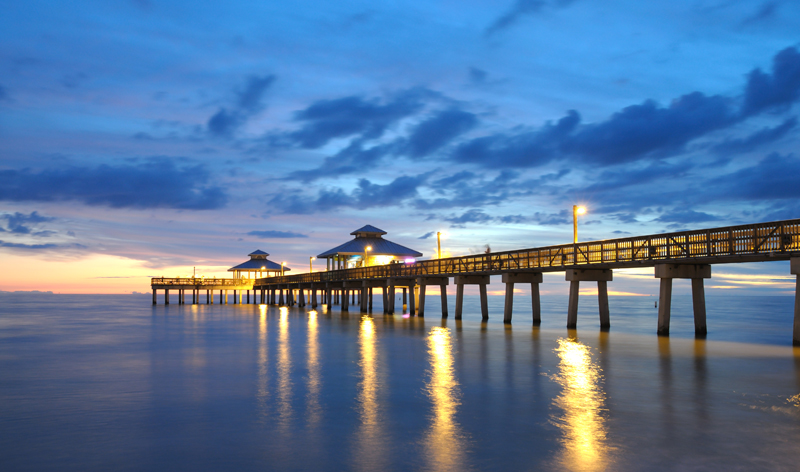 pier at sunset fort myers florida usa vacation packages