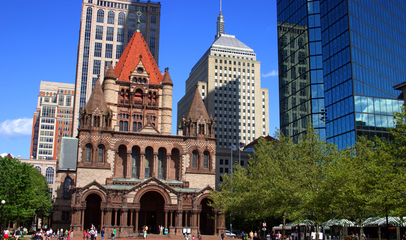 copley square in boston massachusetts usa vacation packages