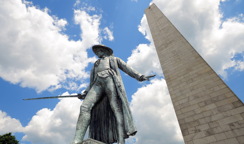 bunker hill monument at breeds hill boston massachusetts usa vacation packages