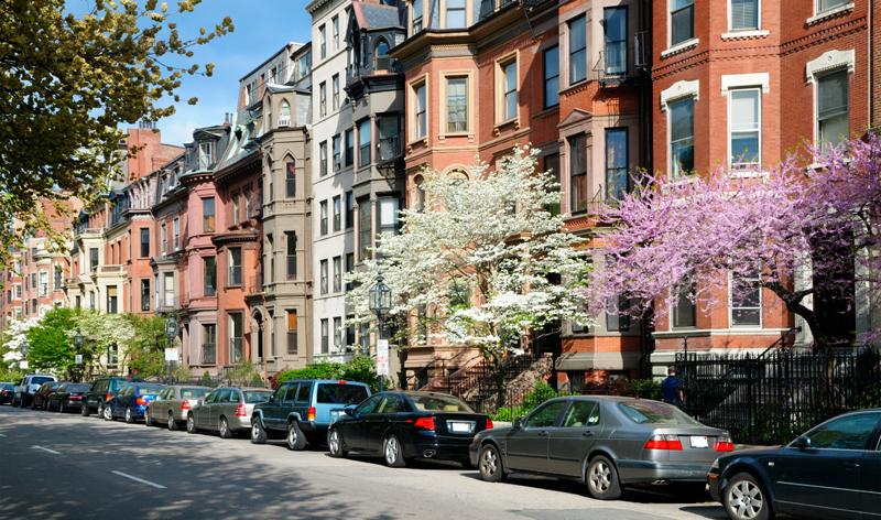 elegant brownstones in back bay boston massachusetts usa vacation packages