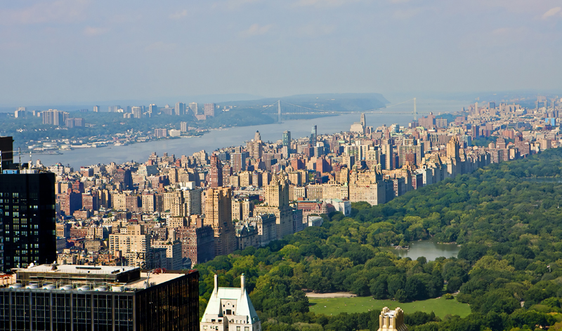 aerial view of manhattan and central park in new york city new york usa vacation packages