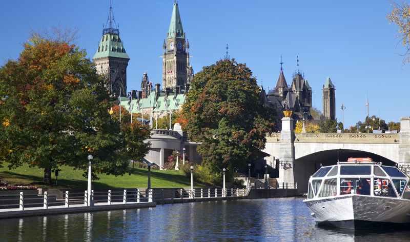 parliament of canada and rideau canal ottawa ontario canada vacation packages