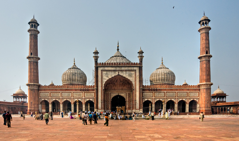 Jama Masjid Mosque old Delhi India