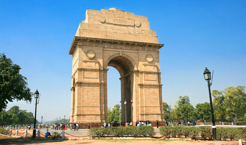Gate of India in New Delhi India