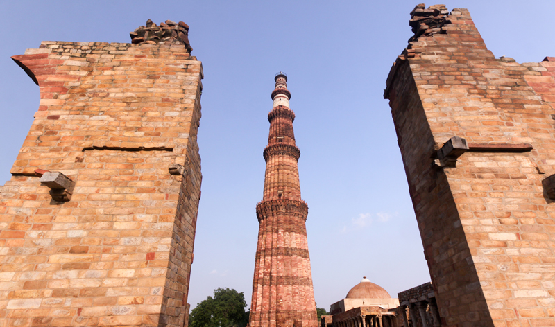 Qutb Minar in Delhi India