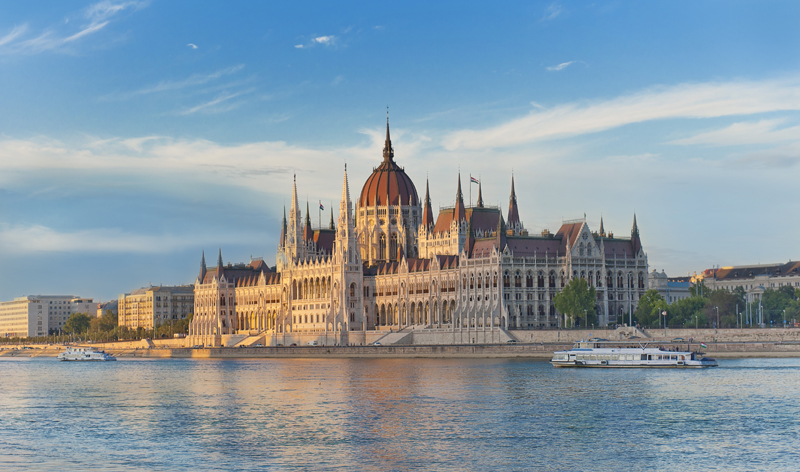 hungarian parliament budapest hungary europe vacation packages