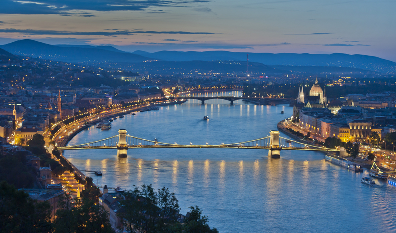 aerial view budapest hungary europe vacation packages