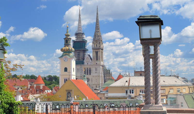 cityscape zagreb croatia europe vacation packages