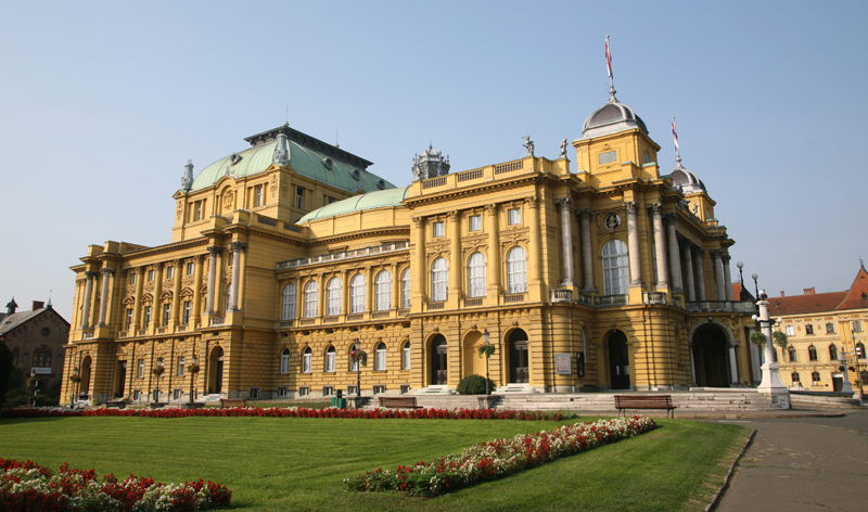 national theatre zagreb croatia europe vacation packages