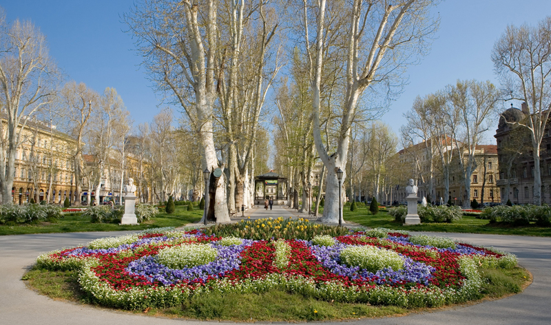 Park Zrinjevac Zagreb Croatia europe vacation packages