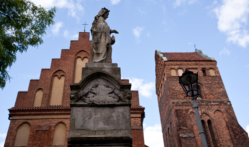 church visitation virgin mary warsaw poland europe