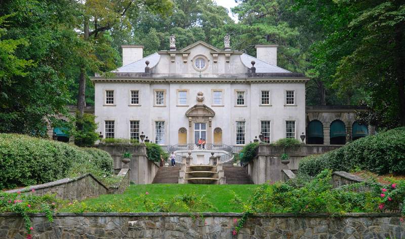 swan house atlanta georgia usa