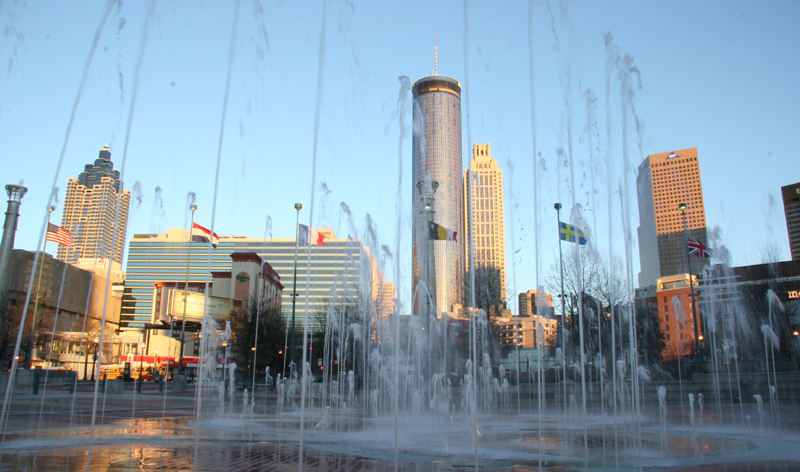 centennial olympic park atlanta georgia usa