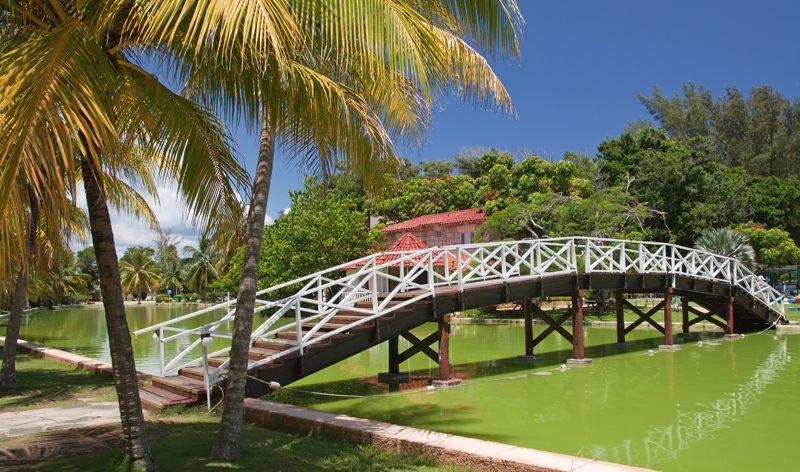 foot bridge hesone park varadero cuba vacation packages