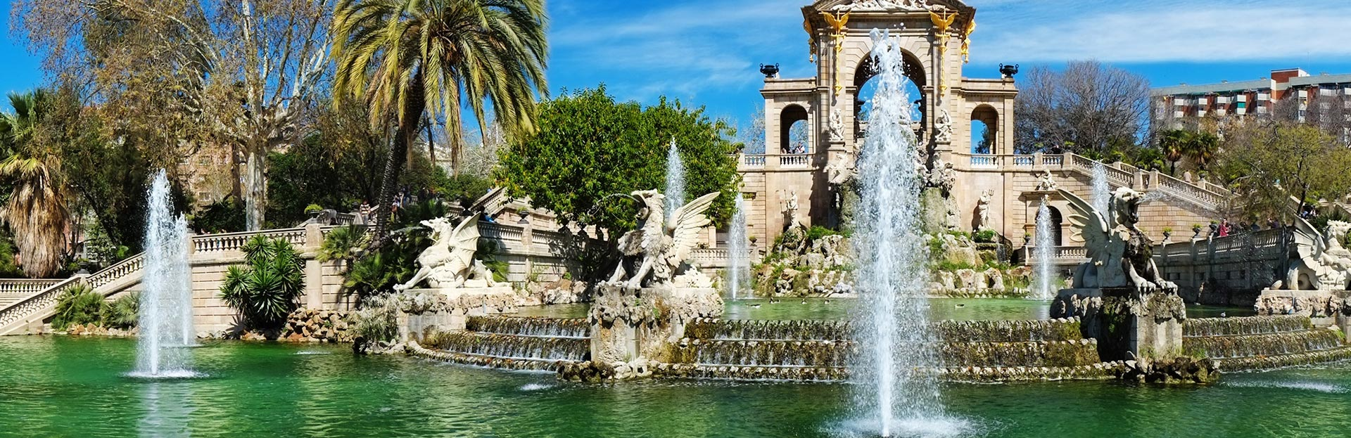 Spain Barcelona Fountain