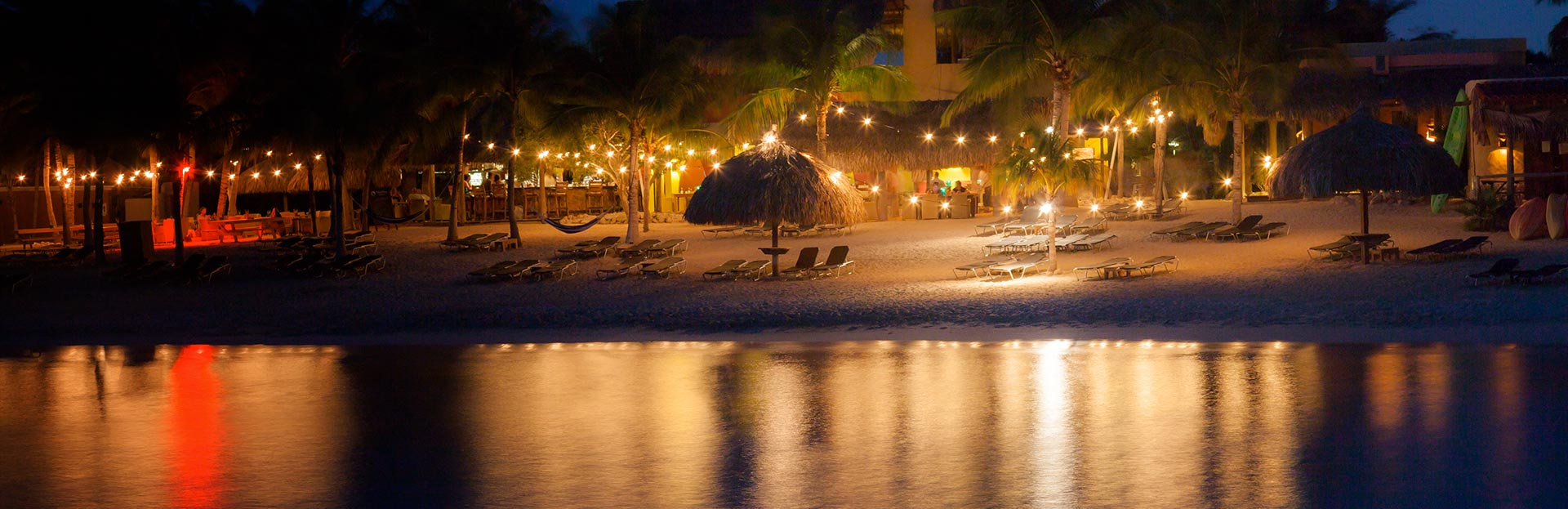 Curacao Beach Night