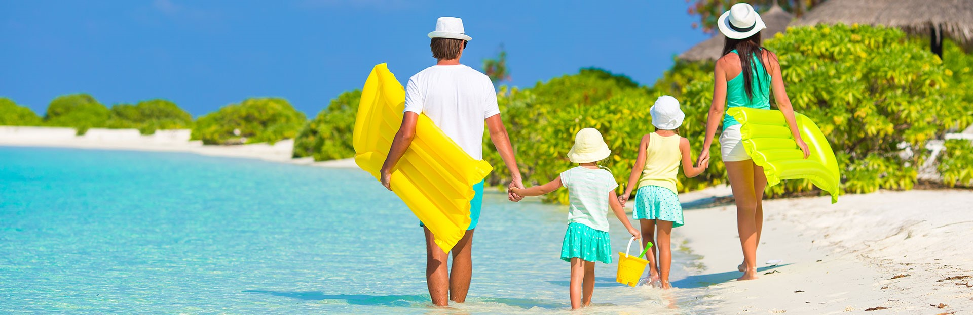 Family Beach Vacation Packages from Toronto