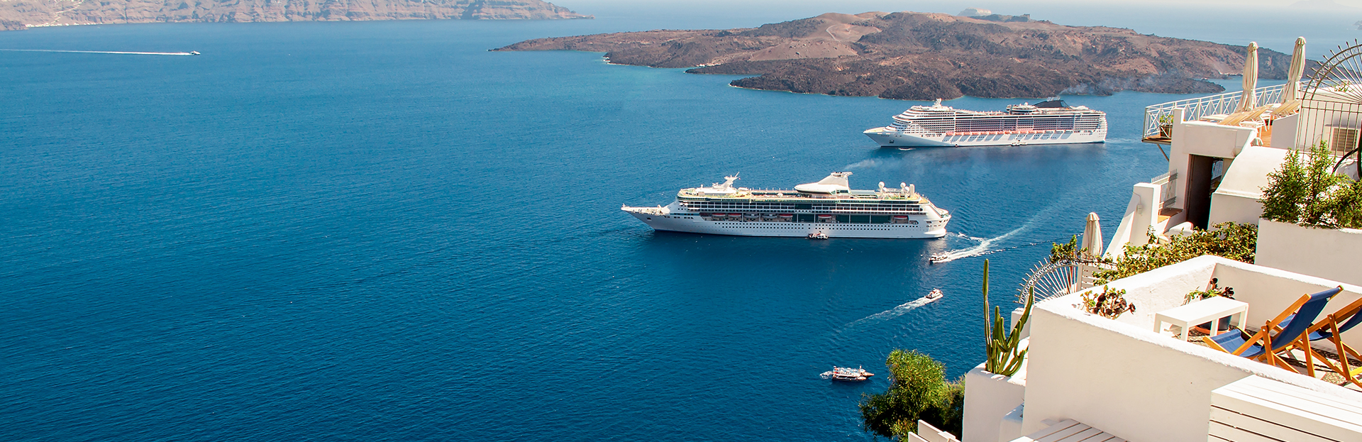 Cruises from Greece with Flights from Toronto