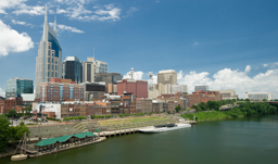City skyline - Nashville, Tennessee, USA
