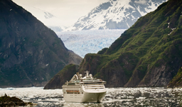 Cruising thru Tracy Arm Fjord - Alaska cruise
