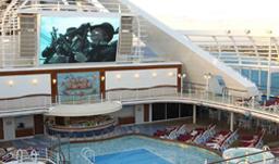 Princess Cruises Movies under the Stars