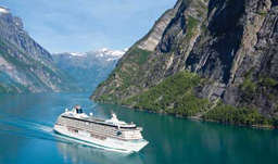 Crystal Cruises Serenity in Geiranger, Norway