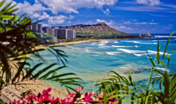 Waikiki Beach and Diamond Head - Honolulu, Hawaii, USA