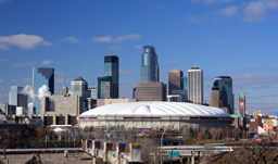 Metrodome - downtown Minneapolis, Minnesota, USA