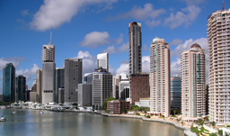 Queensland capital city - Brisbane, Australia