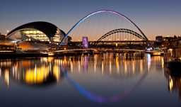 City skyline - Newcastle, England, UK