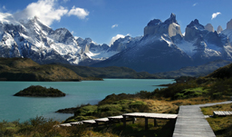 View of Torres del Paine - Santiago de Chile, Chile