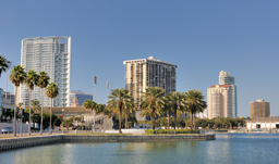 Coast and skyline - St. Petersburg-Clearwater, Florida, USA