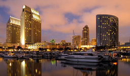 City skyline - San Diego, California, USA