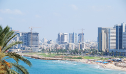 Panoramic city view - Tel Aviv, Israel